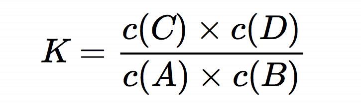 k cc x cd ca x c - Massenwirkungsgesetz Beispiel